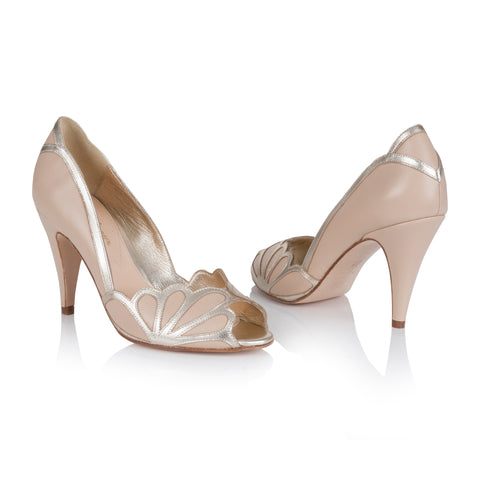 Rachel Simpson Wedding Shoes Peep Toe Isabelle