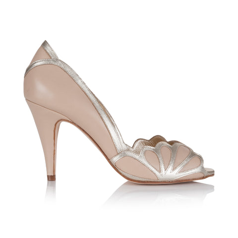 ISABELLE NUDE RACHEL SIMPSON VINTAGE WEDDING SHOES