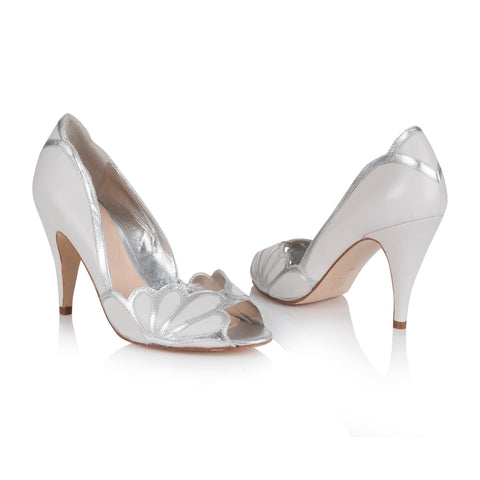 Rachel Simpson Wedding Shoe Peep toes Isabelle