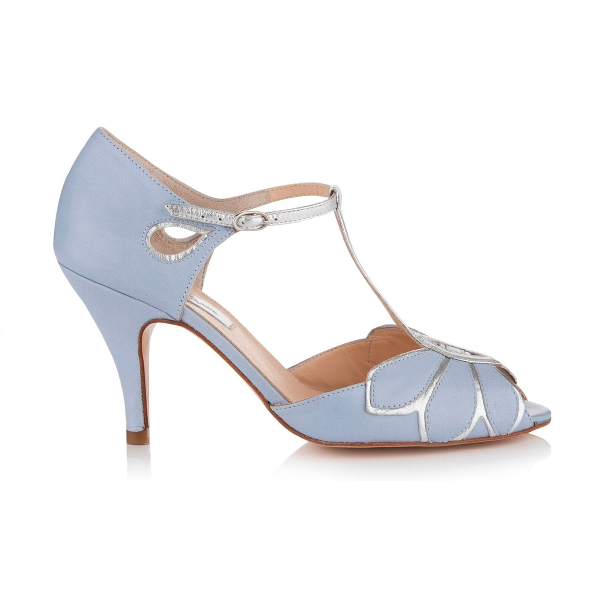 Mimosa Blue Wedding Shoe
