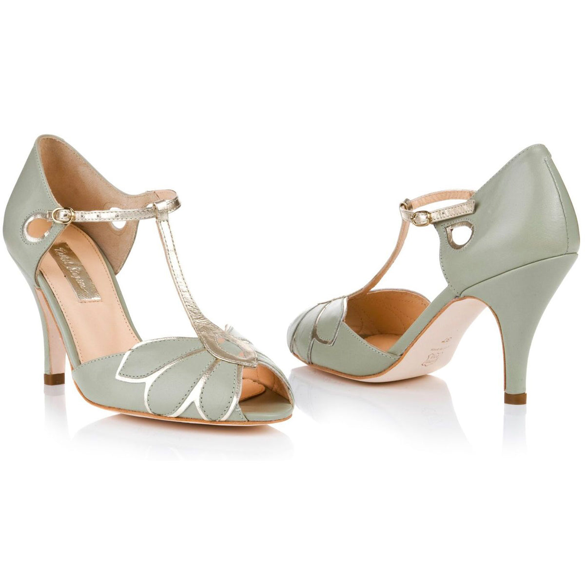 Rachel Simpson Peep Toe Mimosa Wedding Shoes