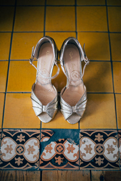 Rachel Simpson Vintage Wedding Shoes
