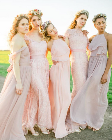 Bridesmaids dresses and shoes Rachel Simpson vintage wedding shoes