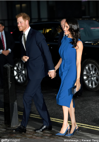 Meghan Markle Cobalt dress