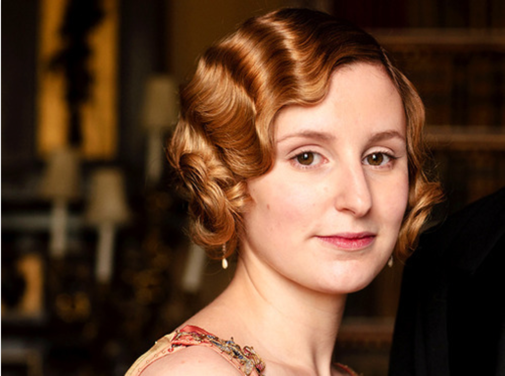 Lady Edith Downton Abbey Hairstyle