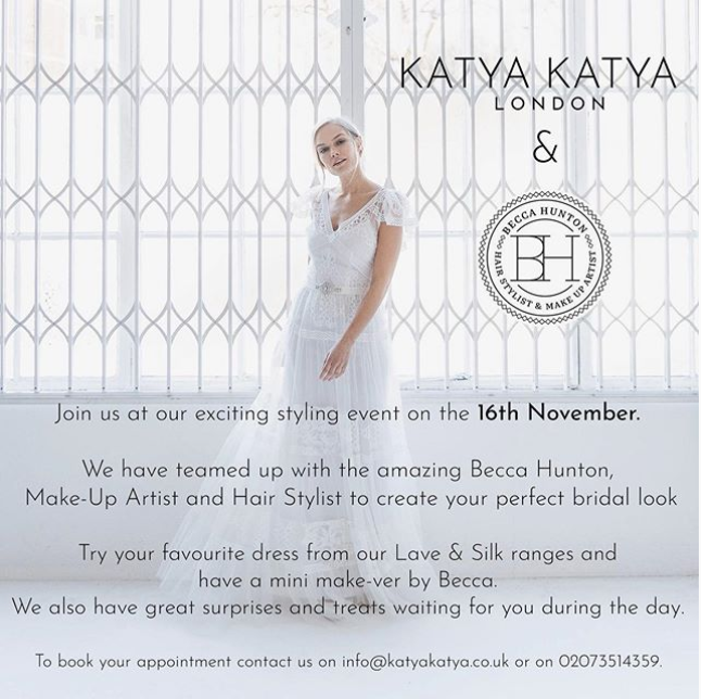 Katya Katya London Styling Event