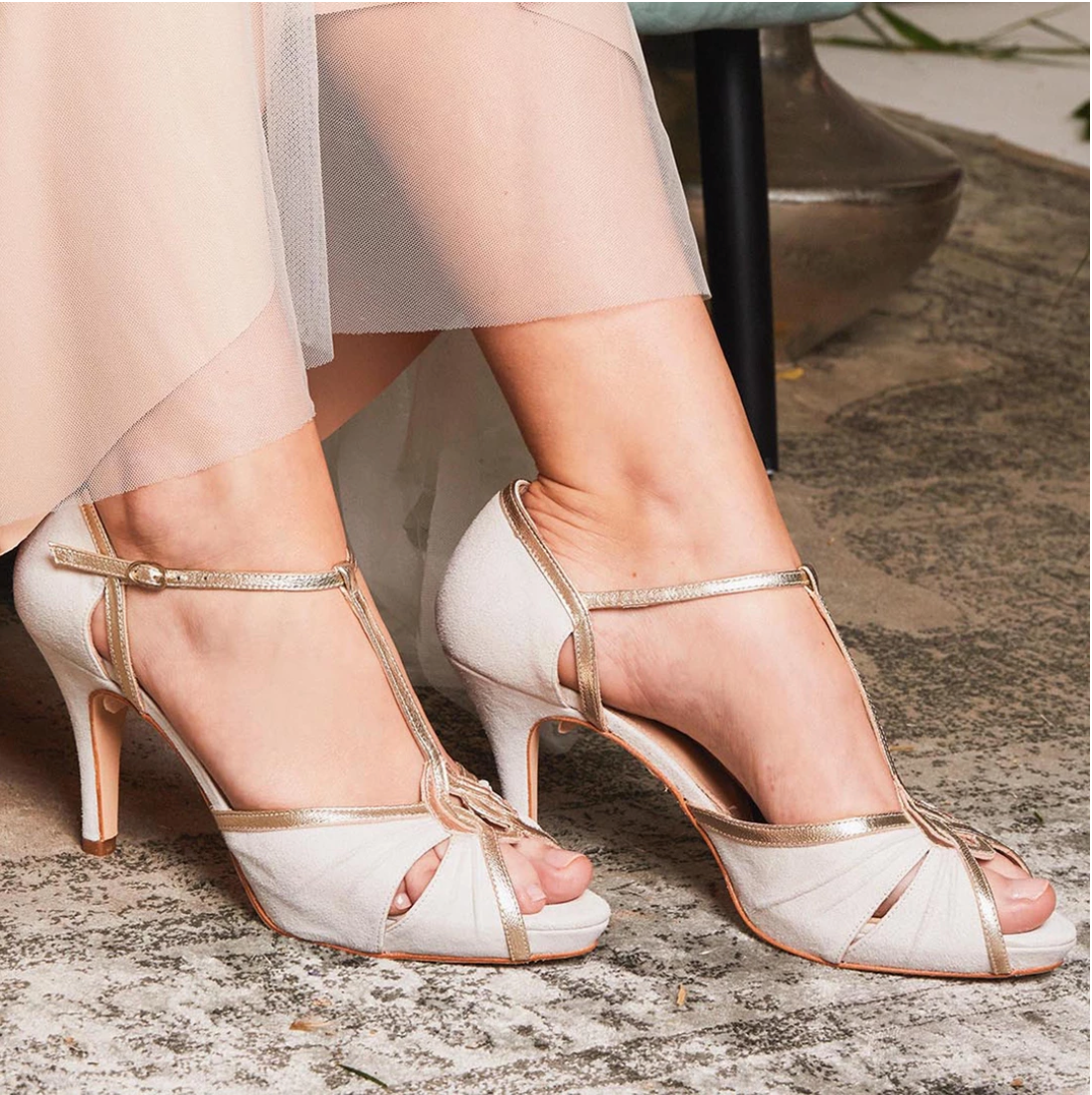 Rachel Simpson Louisa platform wedding shoes
