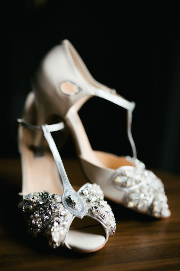 Rachel Simpson Papillon Mimosa wedding shoes