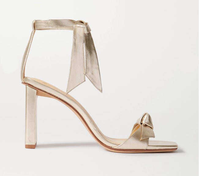 Alexandre Birman Clarita gold sandals