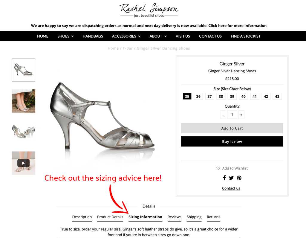 How to convert UK shoes sizes to US