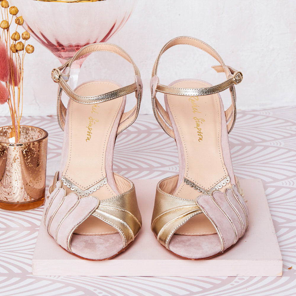 Rachel Simpson Aurelia high heel wedding shoes