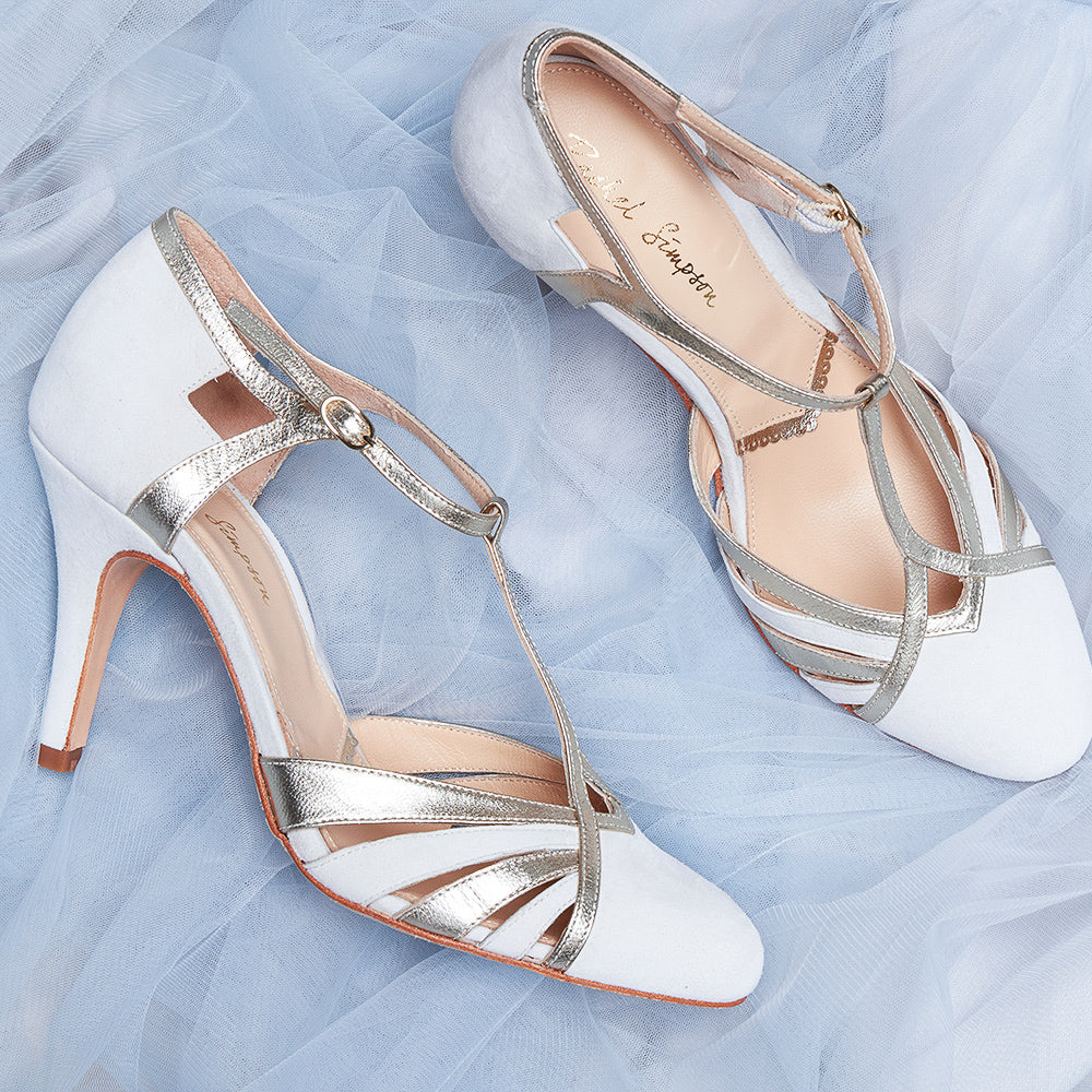 Paloma Ivory Wedding Shoe