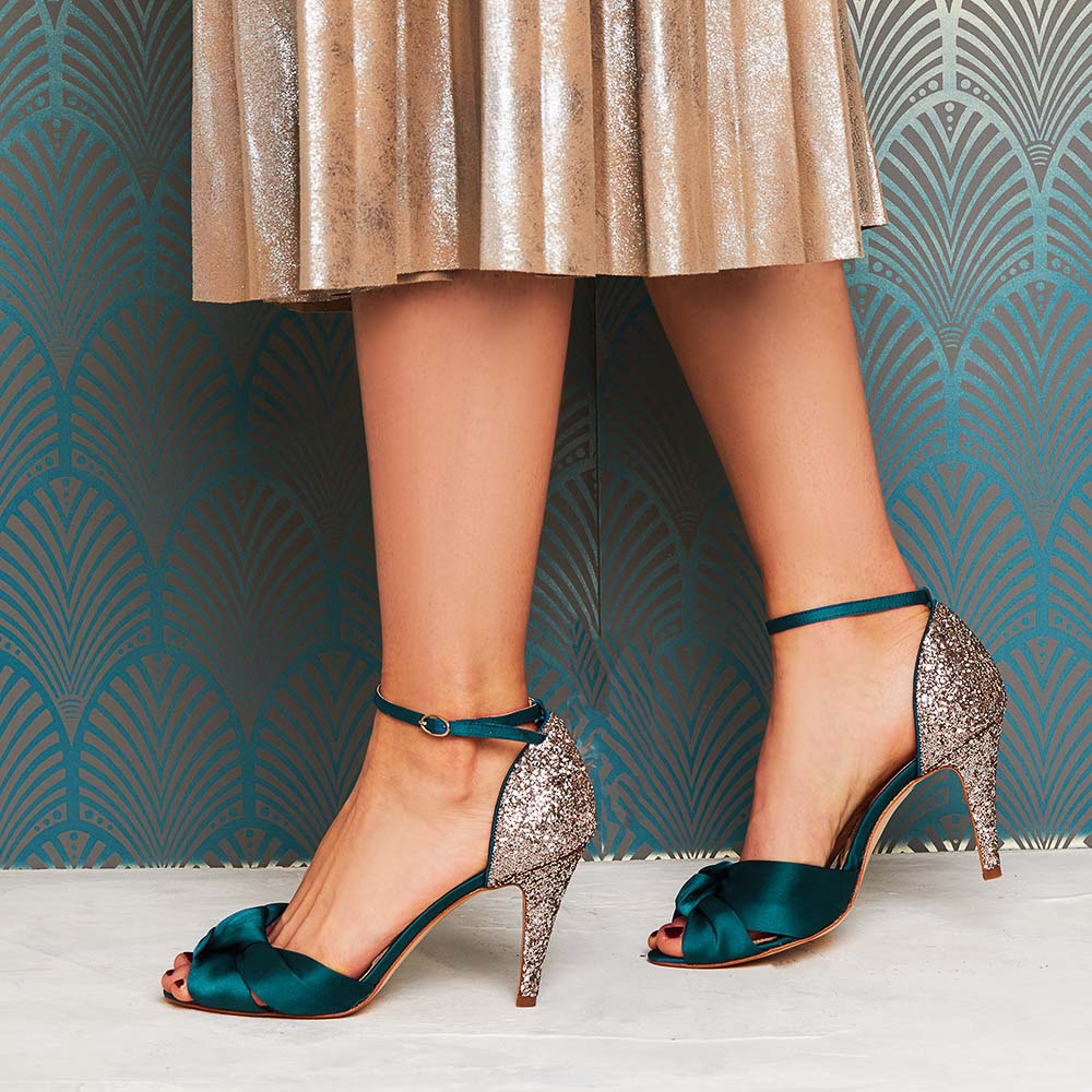 Glitter Wedding Party Shoe