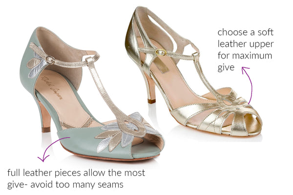 Rachel Simpson wide fit wedding shoes