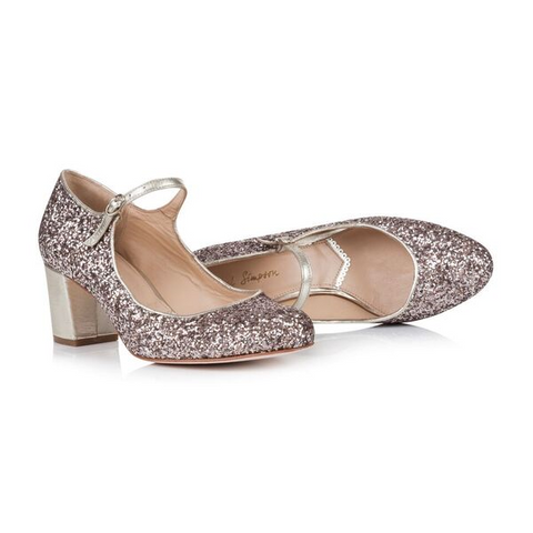Rachel Simpson Glitter Closed toe shoes