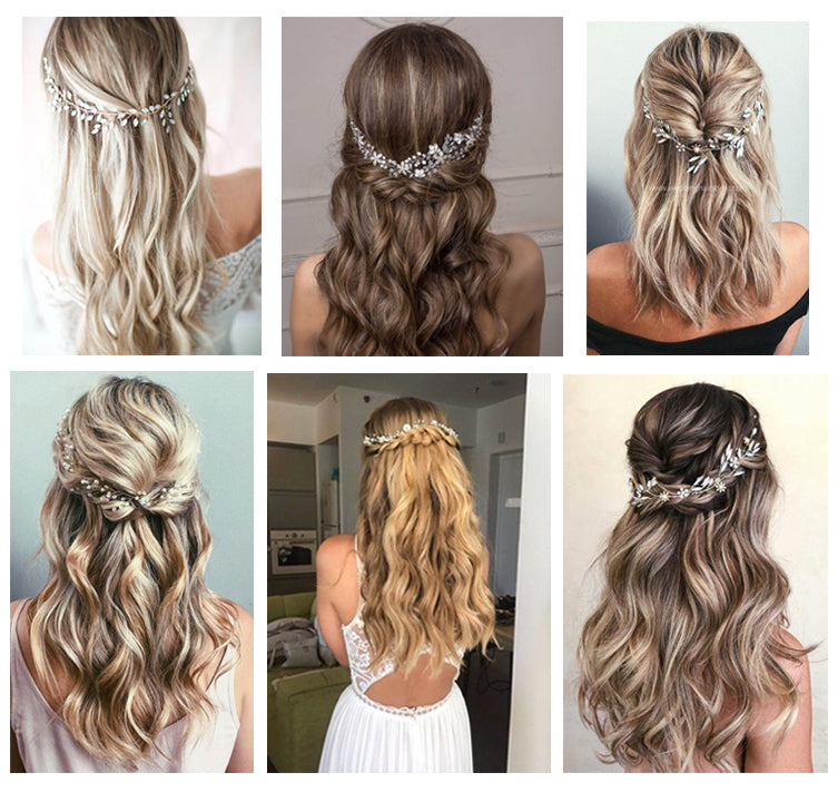 Bridal wedding hair inspiration