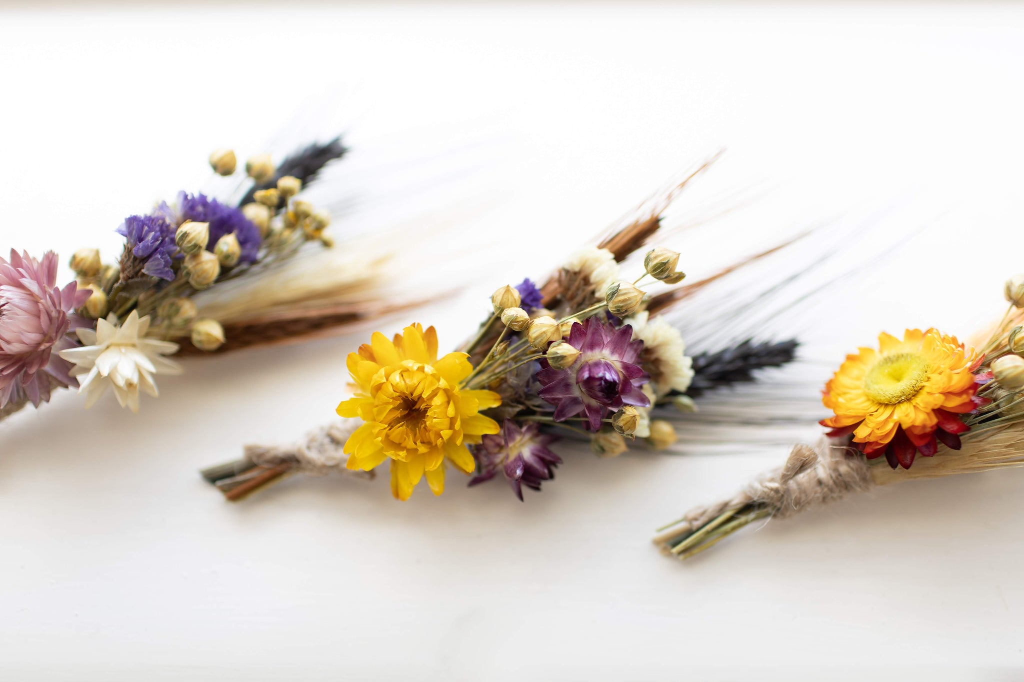 Dried flower Bouquet Flowers Wedding Flowers