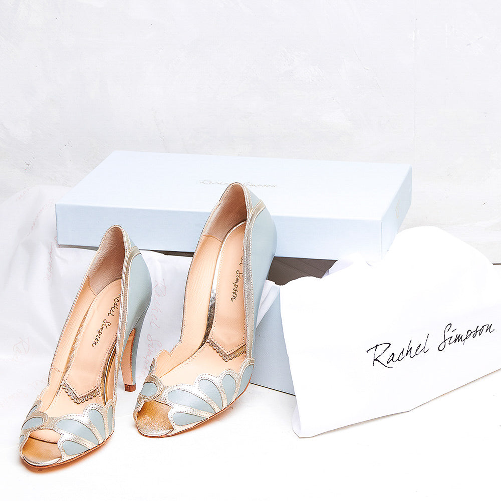 Isabelle shoes vintage style Rachel Simpson shoes