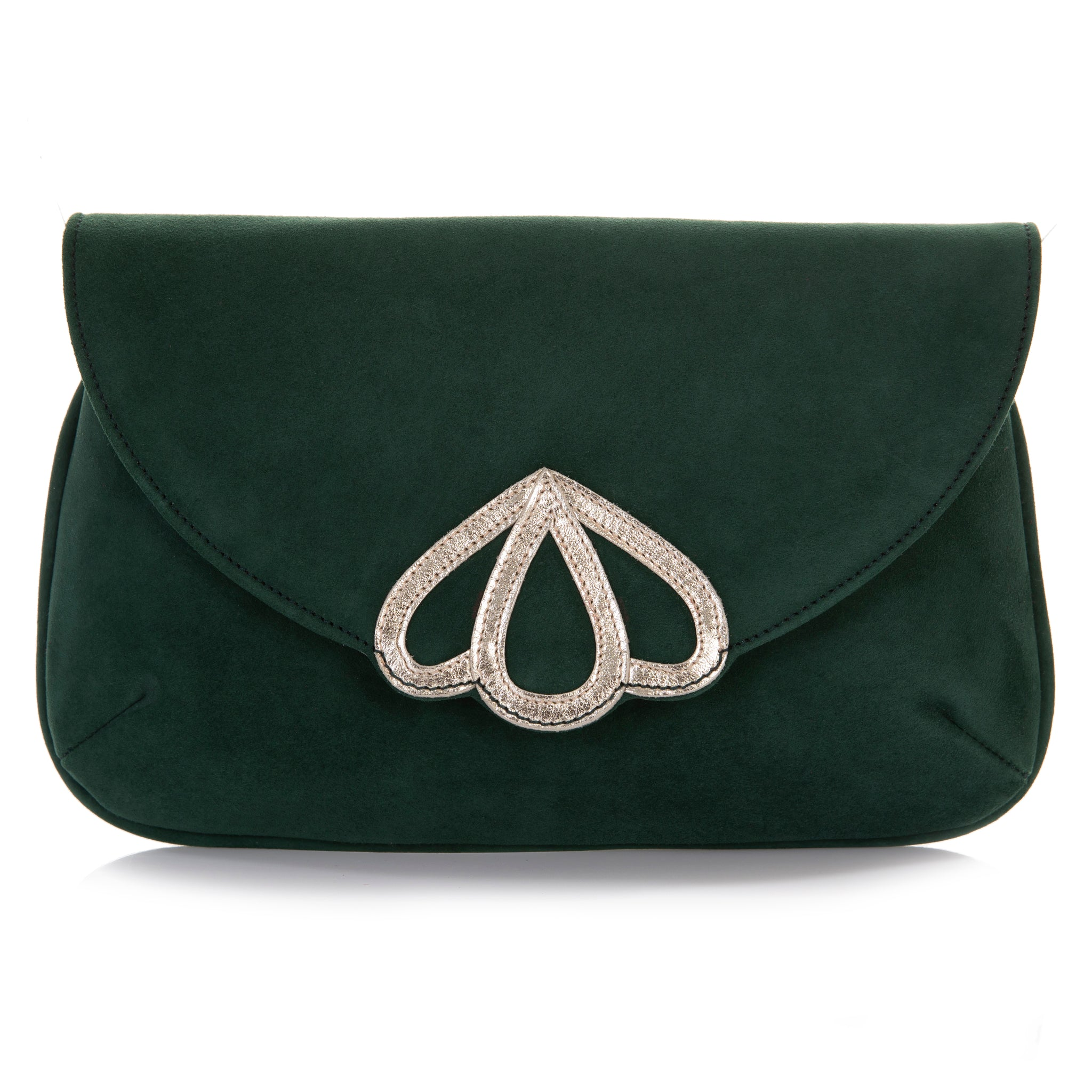 Rachel Simpson Opal forest green handbag