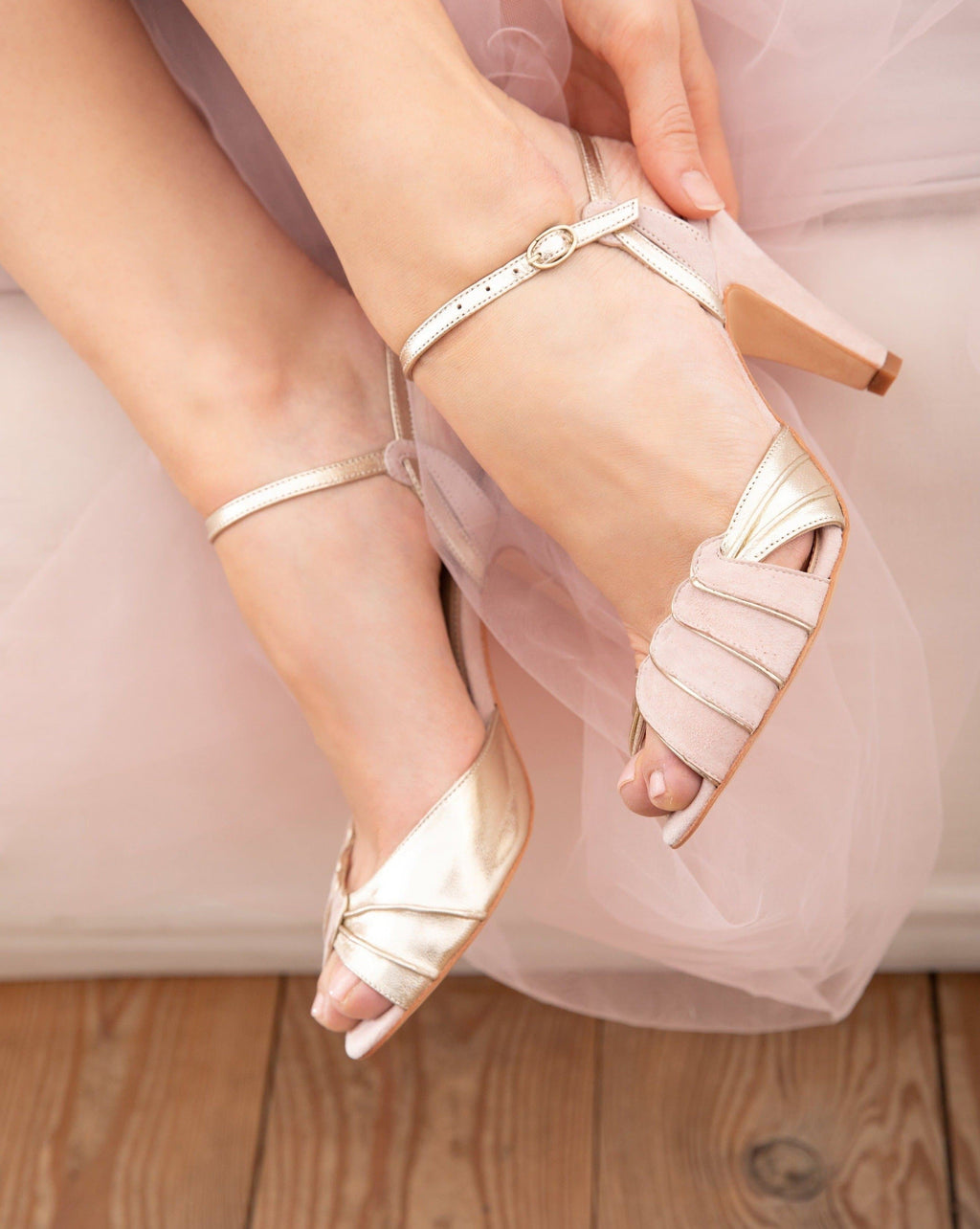Aurelia Powder Pink Ladies Shoes Rachel Simpson