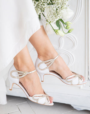 Cecelia Ivory White Ladies Shoes Rachel Simpson