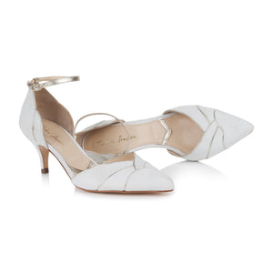 Clementine Ivory Ladies Shoes Rachel Simpson