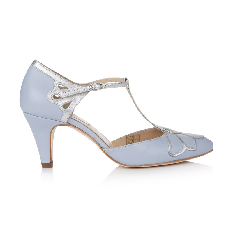 Gardenia II Blue Ladies Shoes Rachel Simpson 35