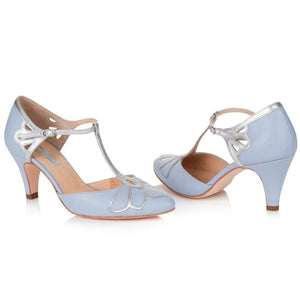Gardenia II Blue Ladies Shoes Rachel Simpson