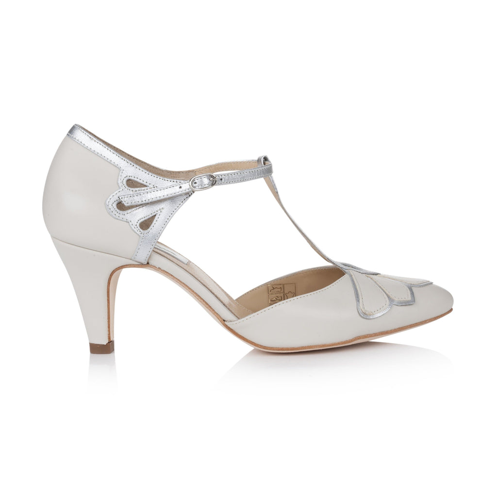Gardenia II Ivory Ladies Shoes Rachel Simpson 35