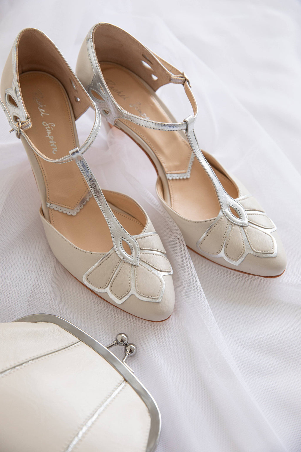 Gardenia II Ivory Ladies Shoes Rachel Simpson