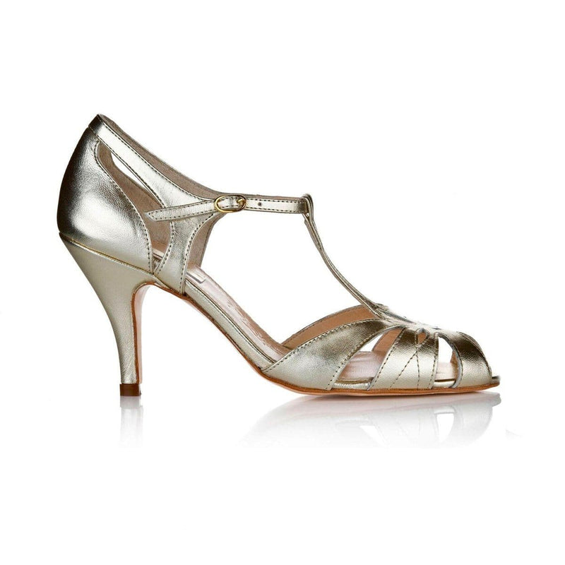 Ginger Gold Ladies Shoes Rachel Simpson 35