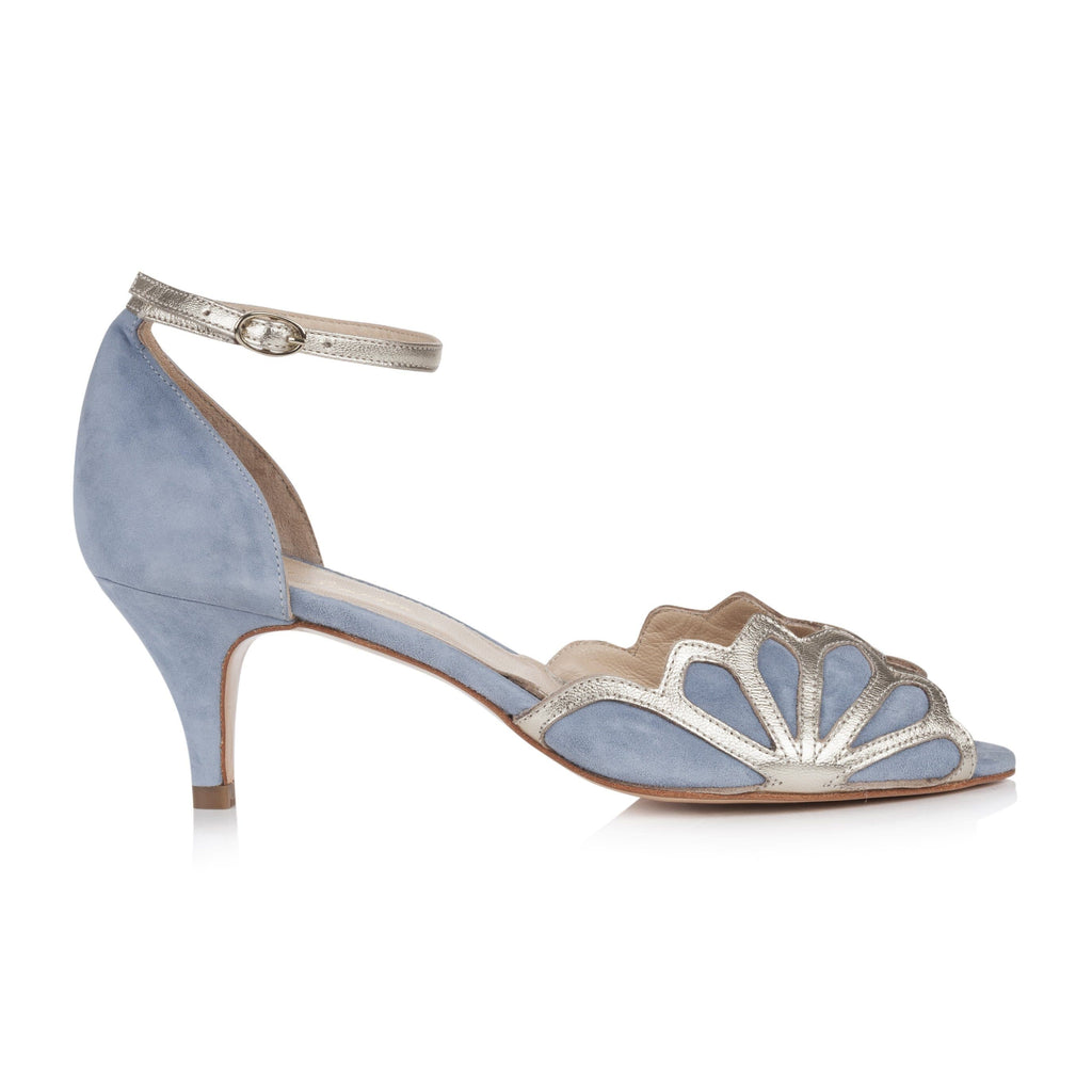Isadora Dusky Blue Ladies Shoes Rachel Simpson 35