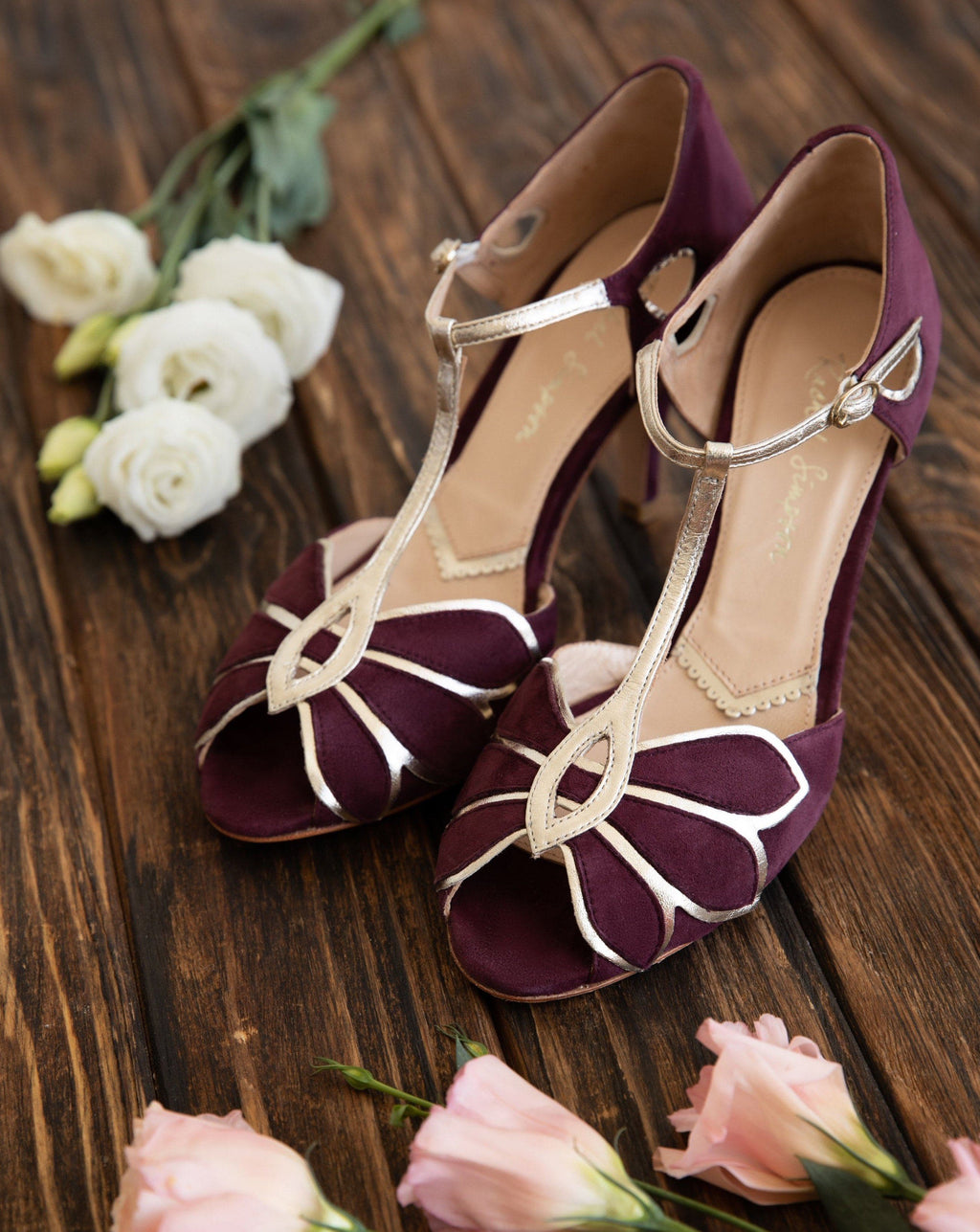 Mimosa Berry Ladies Shoes Rachel Simpson