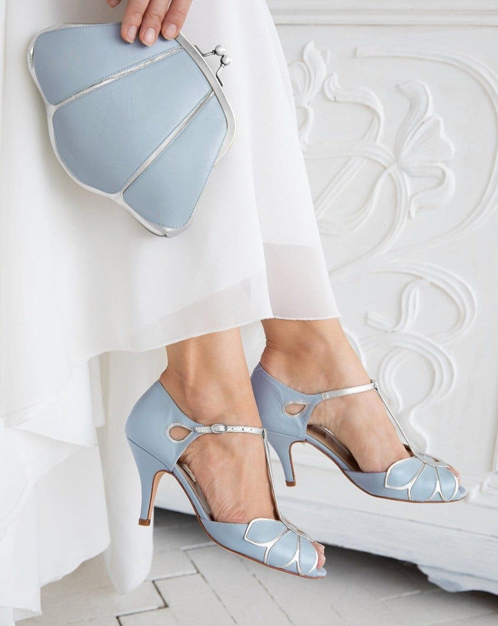 Mimosa Blue Ladies Shoes Rachel Simpson