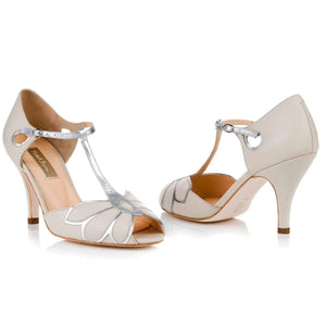 Mimosa Ivory Ladies Shoes Rachel Simpson