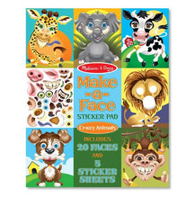 Load image into Gallery viewer, Melissa & Doug Make a Face Sticker Pad