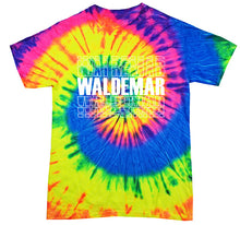 Load image into Gallery viewer, Waldemar Neon Tie Dye t-shirt