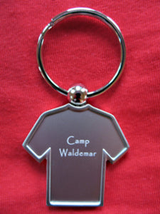Camp Waldemar T-shirt key chain