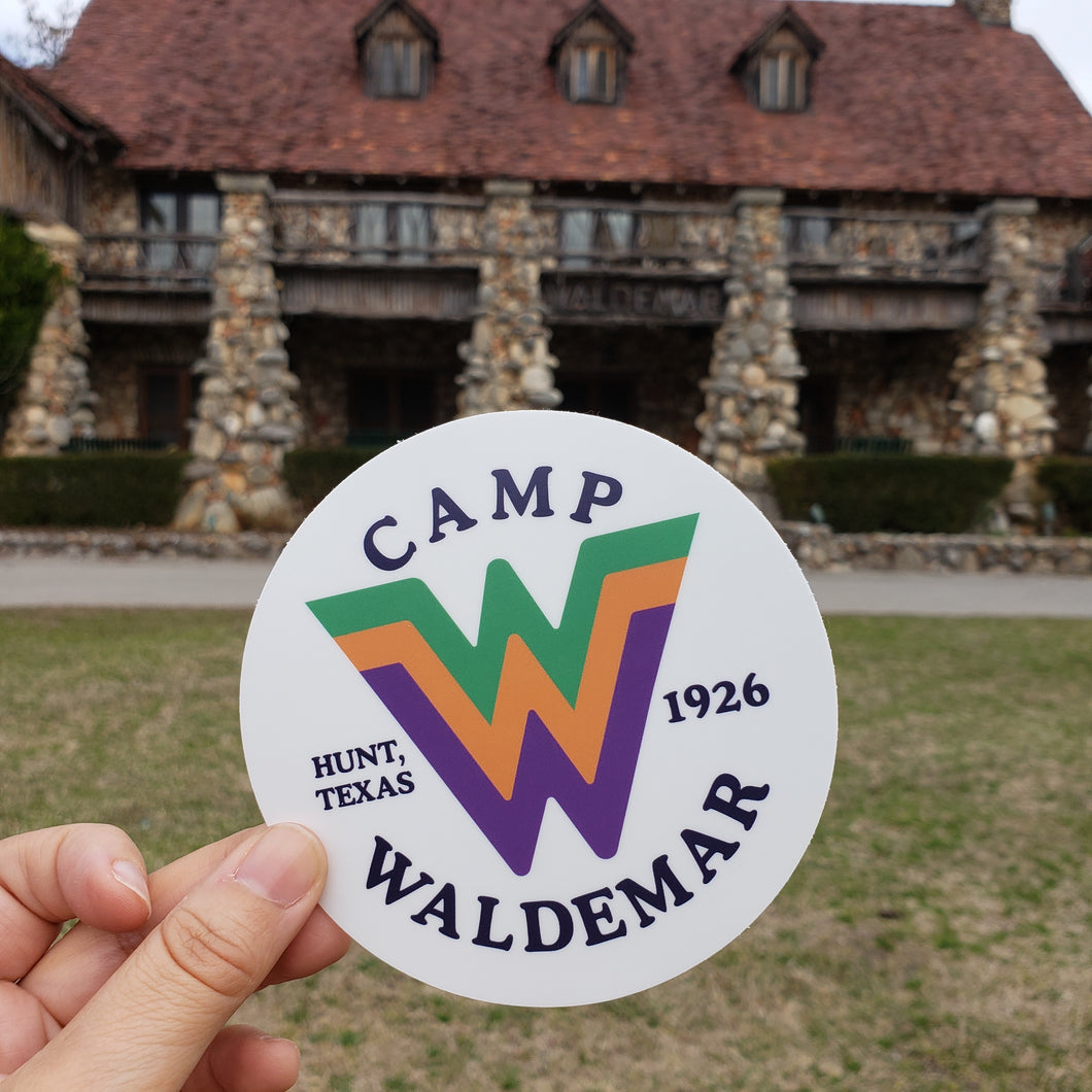 Classic Waldemar Circle Decal