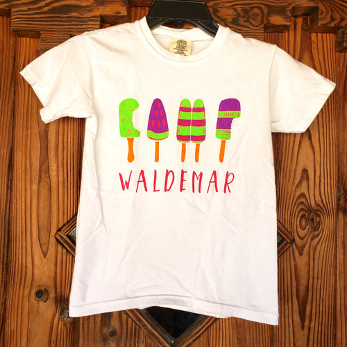 Camp Waldemar Popsicle t-shirt