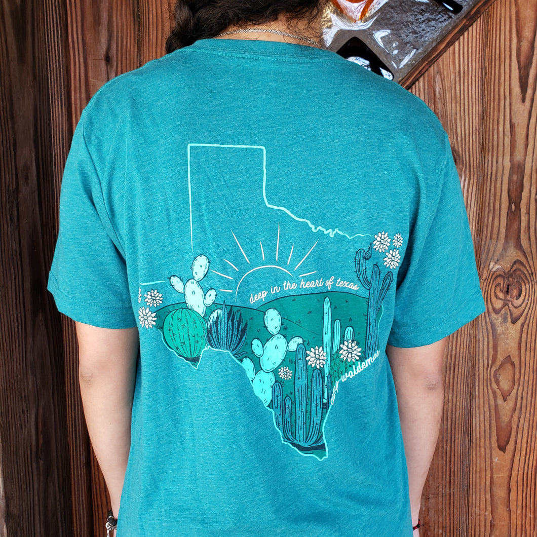 Deep in the Heart of Texas v-neck
