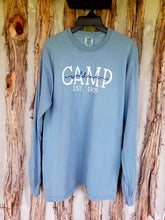 Load image into Gallery viewer, Camp Waldemar script long sleeve