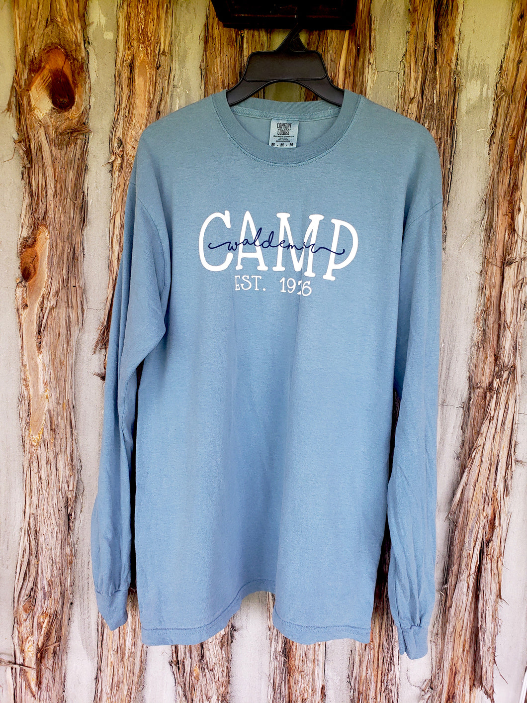 Camp Waldemar script long sleeve
