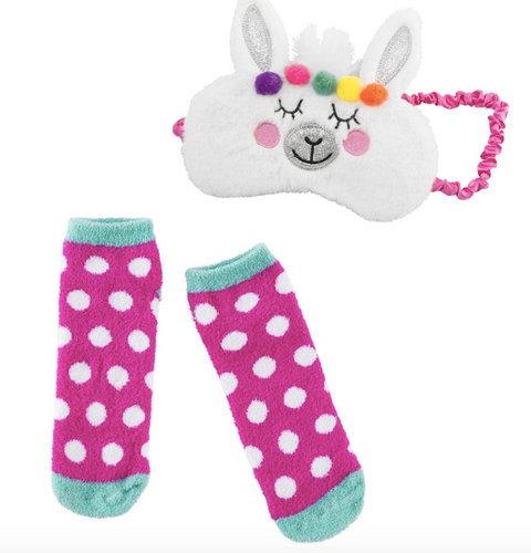 3C4G Plush Sleep Mask & Socks set
