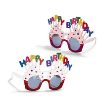 Load image into Gallery viewer, Happy Birthday novelty glasses