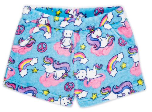 Girls' Fleece PJ Shorts