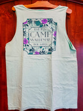 Load image into Gallery viewer, Camp Waldemar Floral Tank