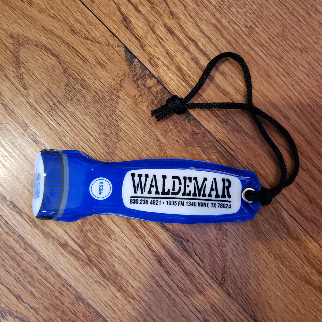 Camp Waldemar Ultra Thin Flashlight