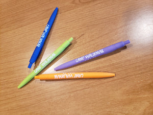 Camp Waldemar Sleek Pens