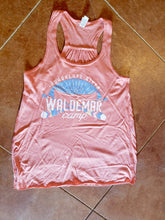 Load image into Gallery viewer, Canoe Flowy Racerback Tank Top